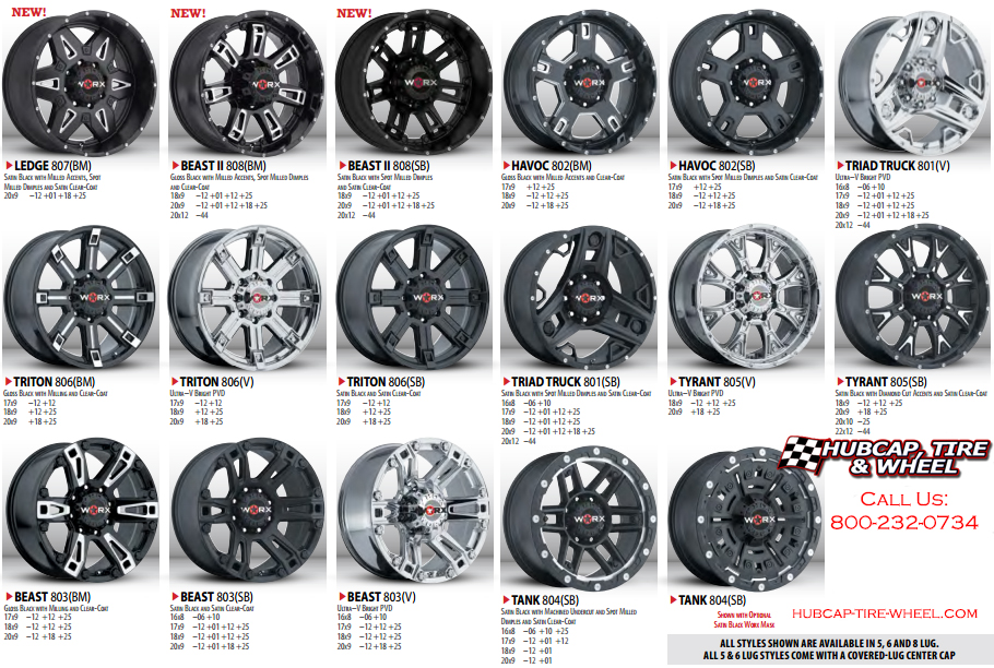 Worx Alloy Rims