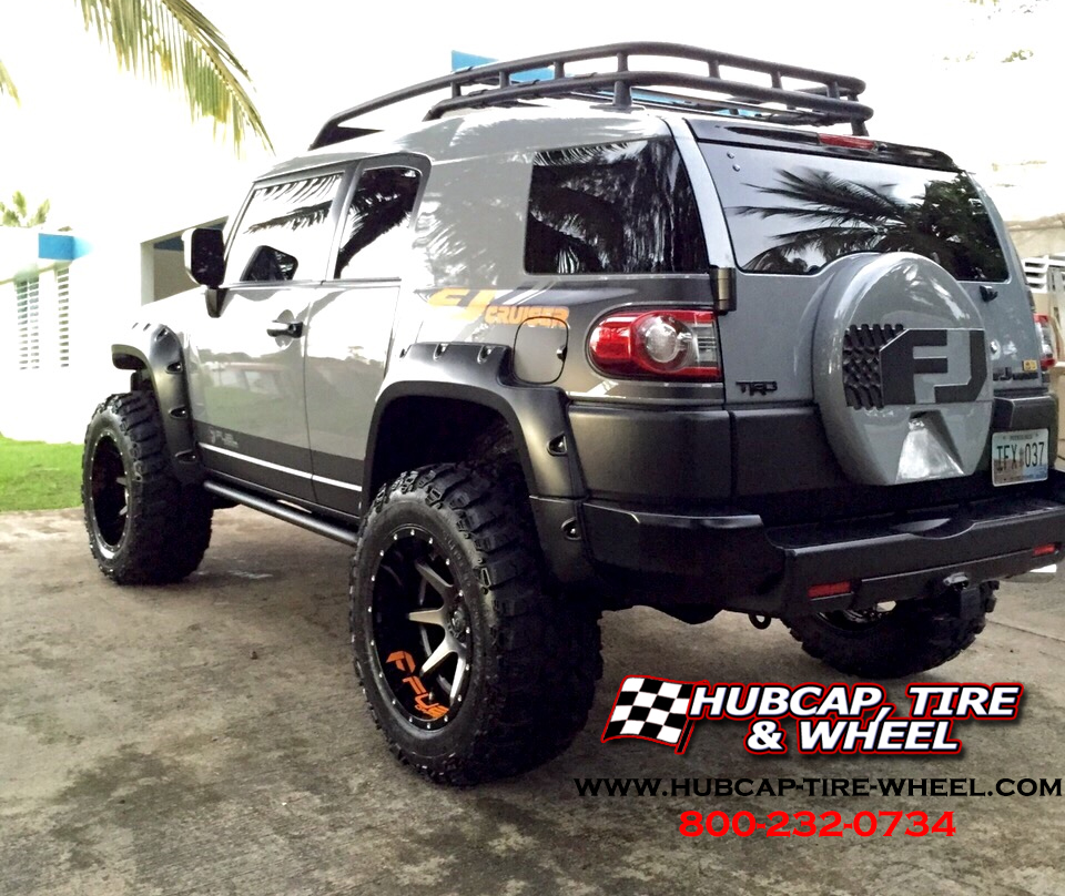 2013 Toyota Fj Cruiser 20 215 12 Fuel Rampage Wheels