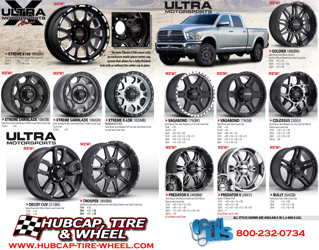 New 2015 Ultra Motorsports Wheels Including Ultra Xtreme