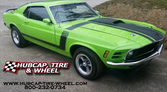 1970 Ford Mustang Fastback Rims