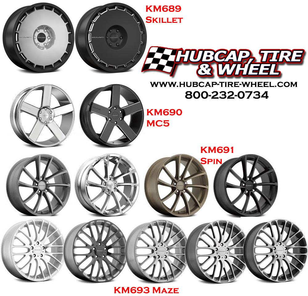 New 2015 KMC Wheels & Rims