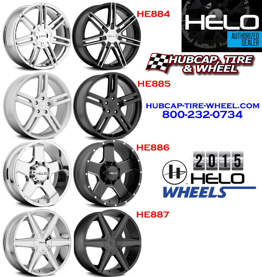 New 2015 Helo Wheels