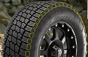Nitto Terra Grappler G2 Tires Shoulder Lugs