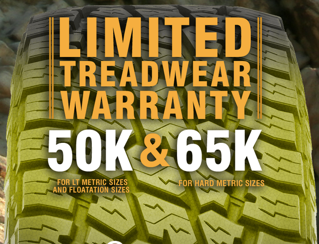 Nitto Terra Grappler G2 Tires Treadwear Warranty