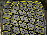 Nitto Terra Grappler G2 Tires Variable Pitch Tread Locks