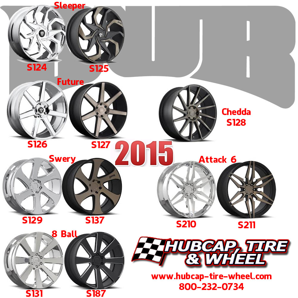 New 2015 DUB Wheels