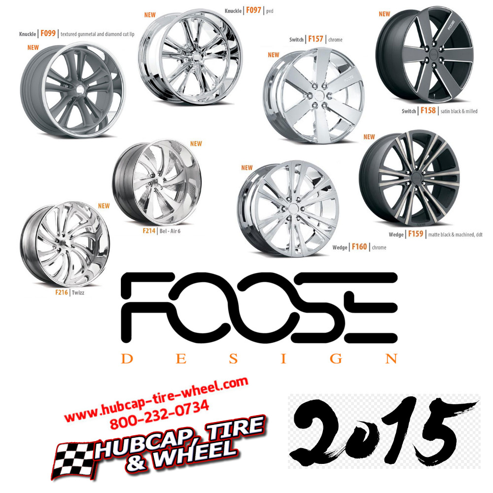 new 2015 foose wheels rims
