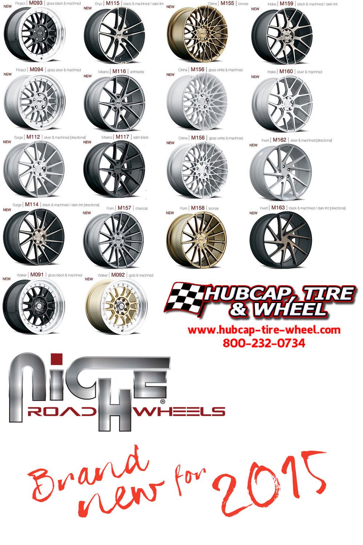 new 2015 niche wheels rims