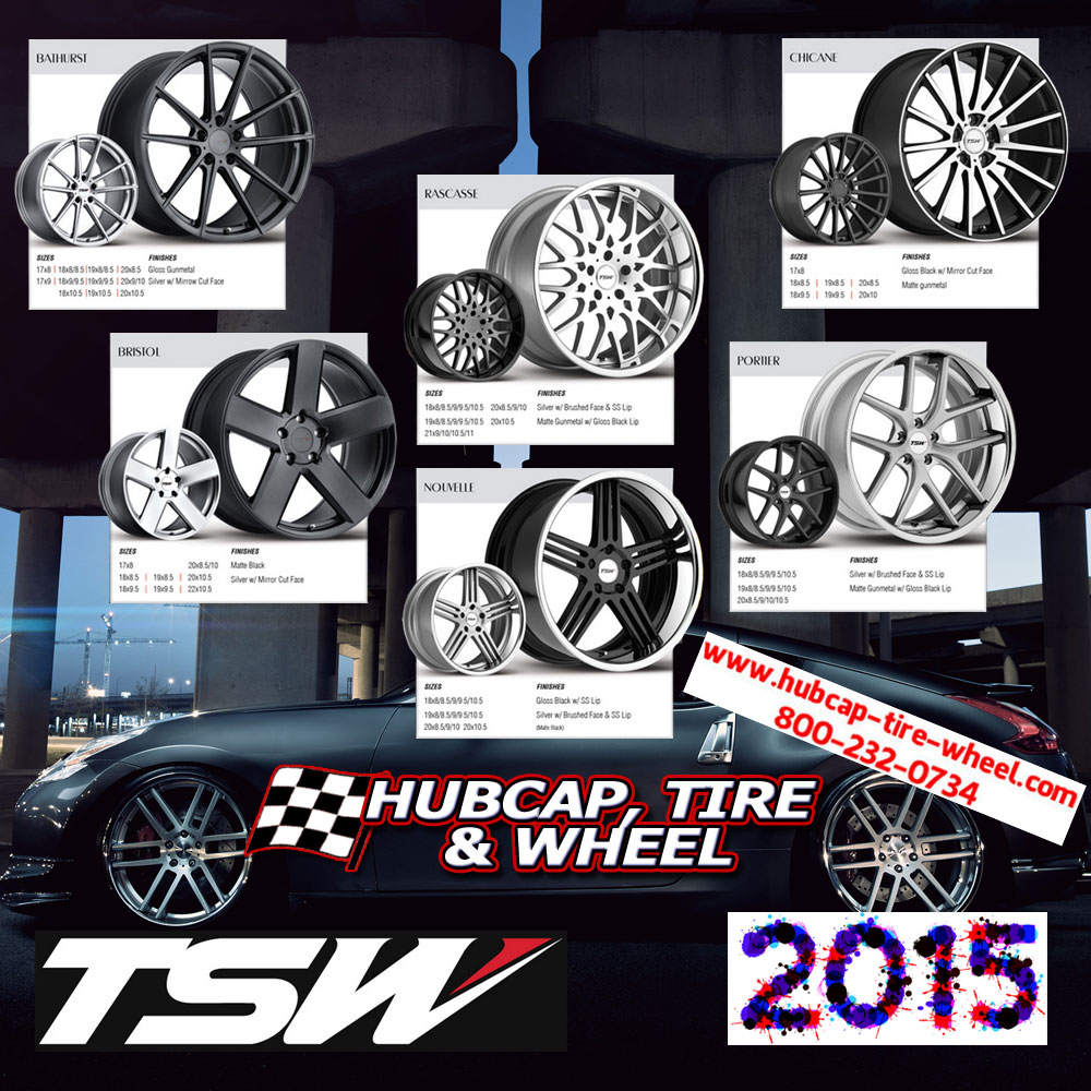 new 2015 TSW wheels rims