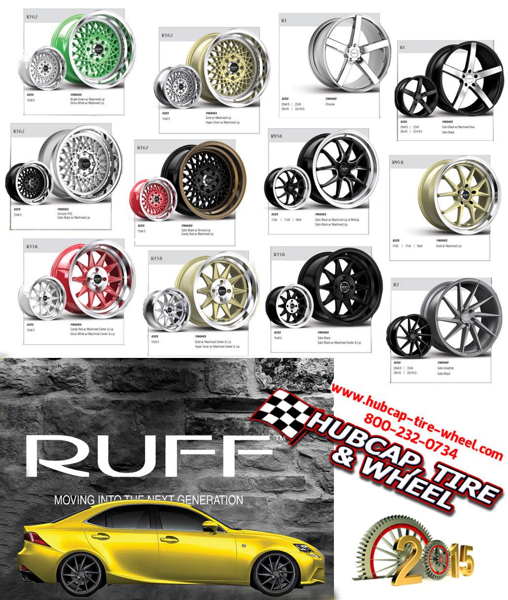 new 2015 ruff racing wheels rims