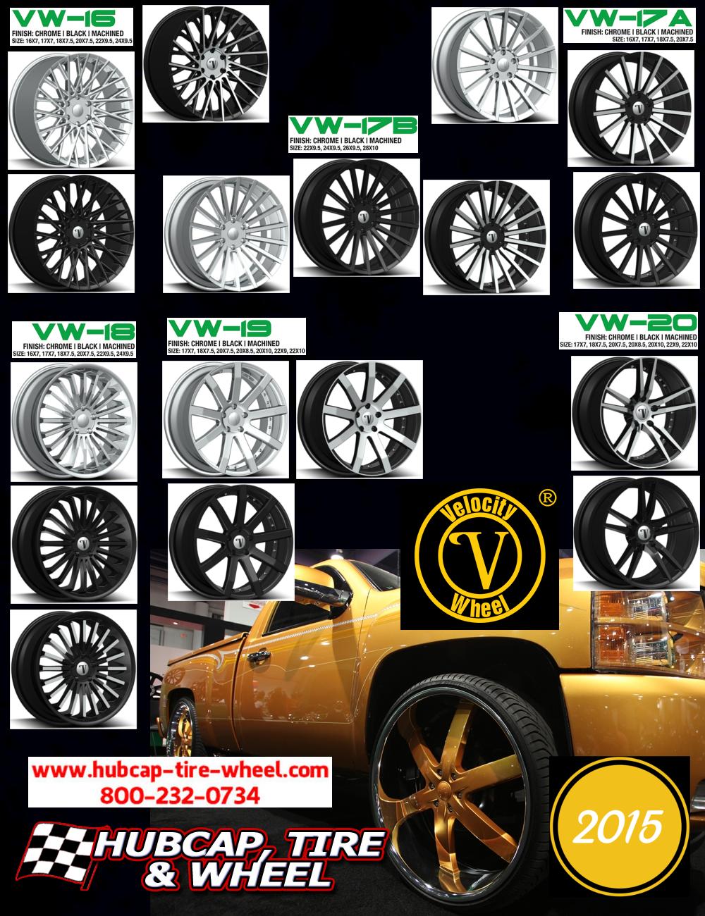new 2015 velocity wheels rims