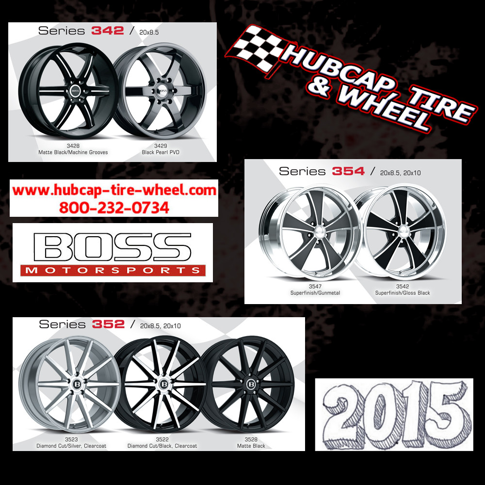 new 2015 boss motorsports wheels rims