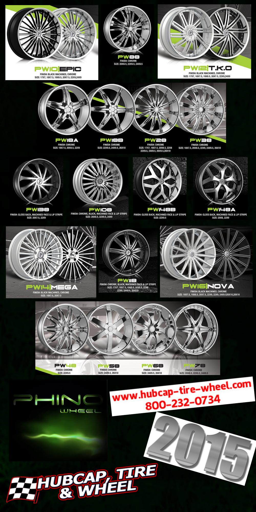 new 2015 phino wheels rims