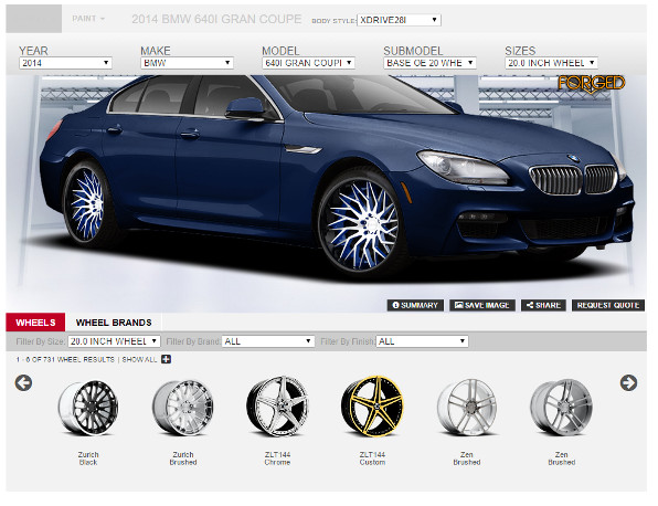 new iconfigurator see custom wheels rims on your car truck suv. Black Bedroom Furniture Sets. Home Design Ideas