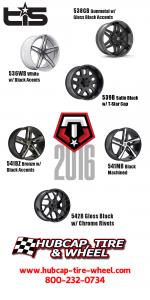 new 2016 TIS wheels custom rims luxury