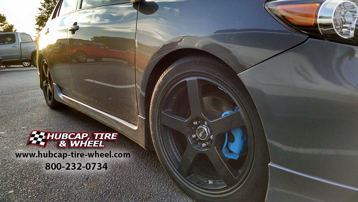 2013-toyota-corolla-s-msr-091-black-machined-wheels-rims-lowered-painted-caliper-2