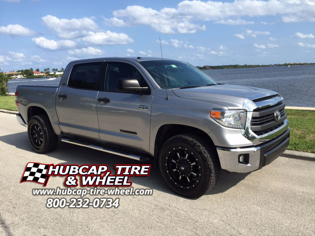 2014 Toyota Tundra With 20 Fuel Krank D517 Wheels