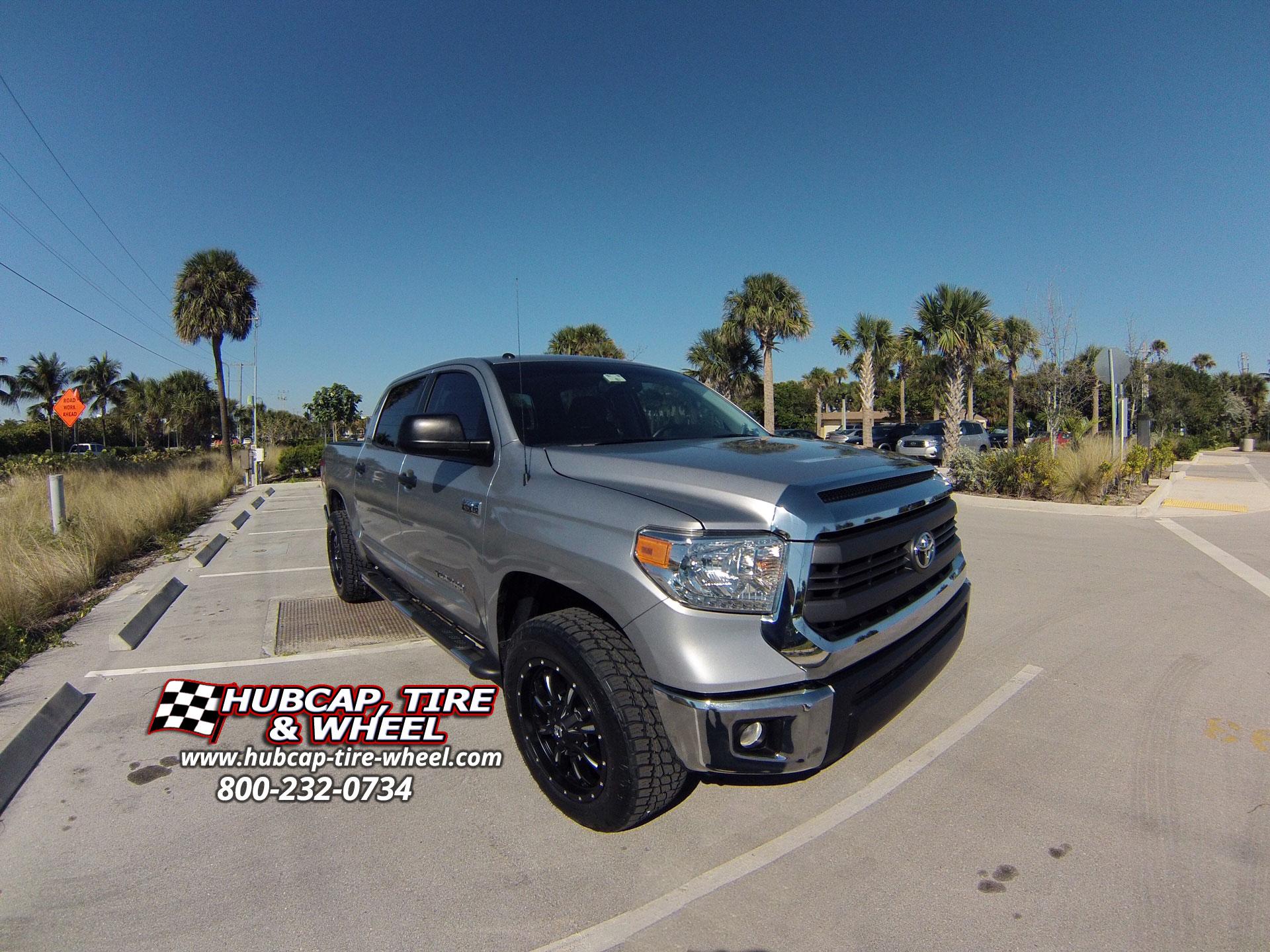 Silver Sky 2014 Tundra Fuel Wheels