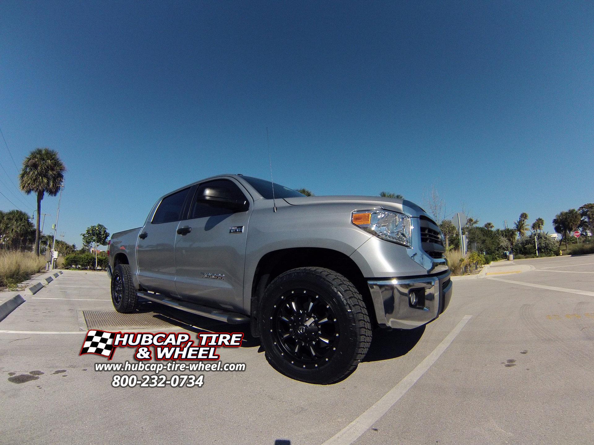 2014 Toyota Tundra with 20″ Fuel Krank D517 Wheels