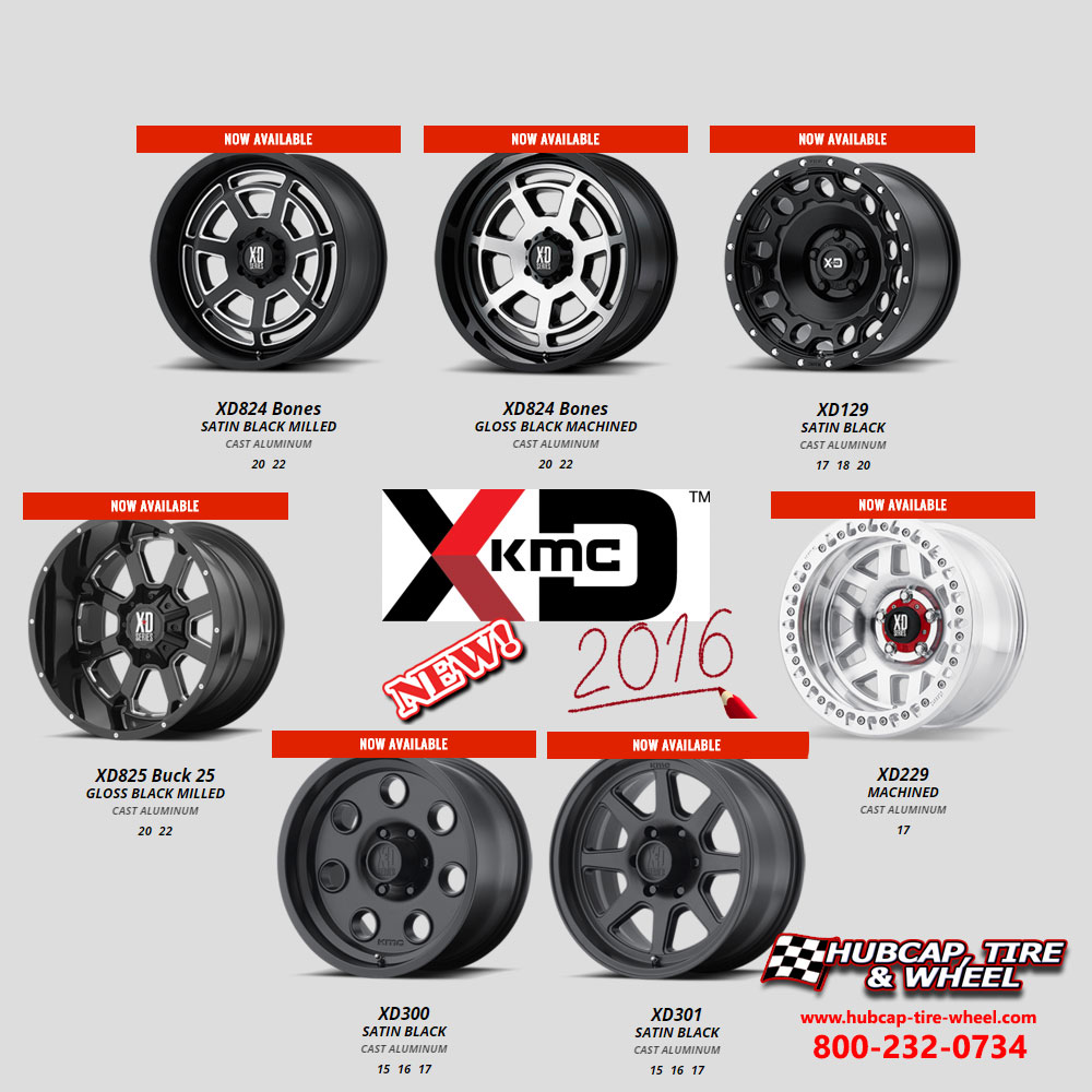 New 2016 KMC XD Series Wheels and Rims