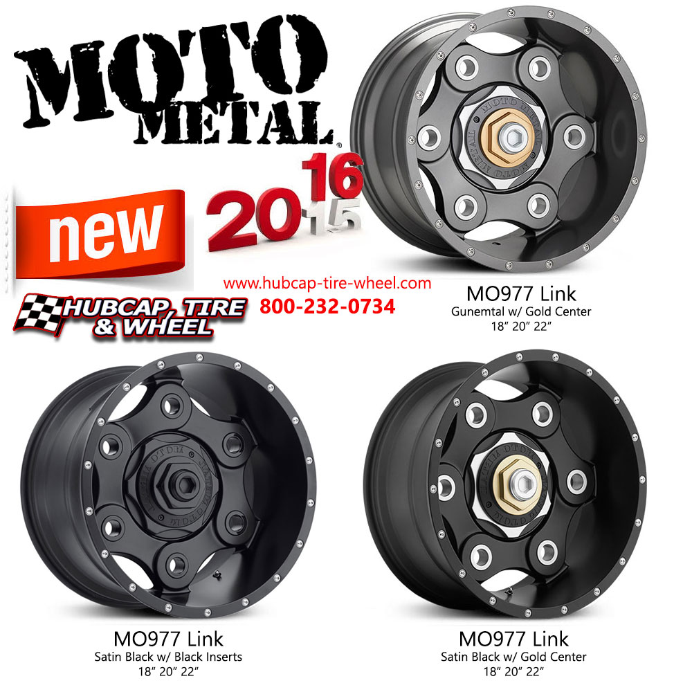 New 2016 Moto Metal Wheels and Rims