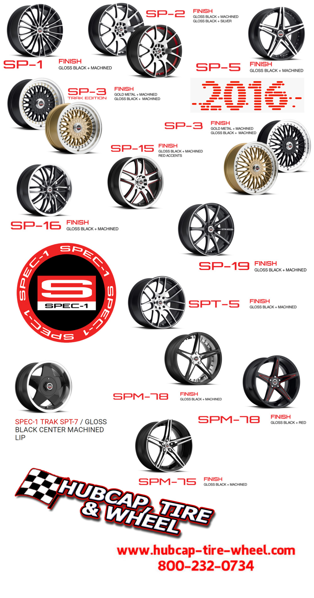 spec 1 racing wheels rims