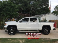 2015 chevy chevrolet sierra 1500 level kit 20x9 moto metal 970 mo970