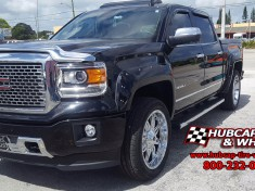 2015 gmc denali 1500 2 inch lift 22x95 fuel hostage chrome