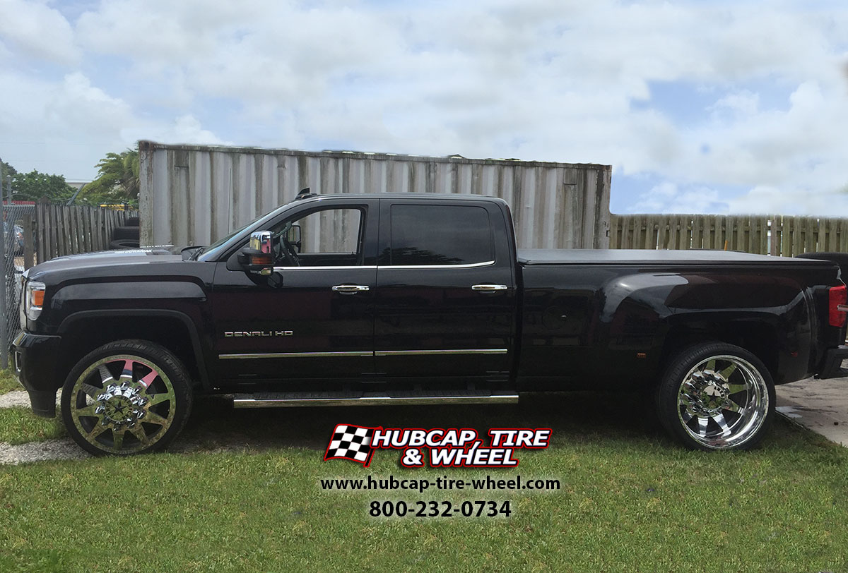 2014 gmc sierrra hd denali dually american force independence