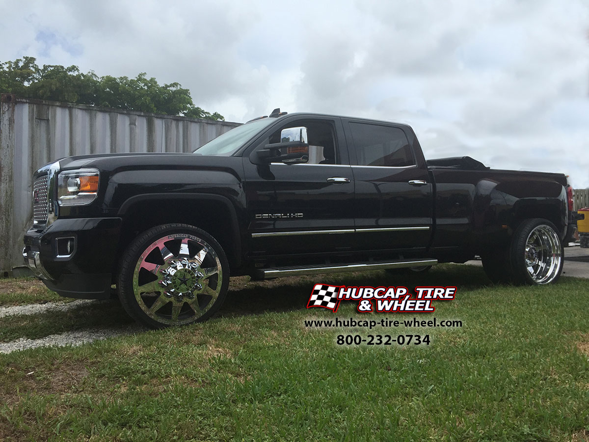 Denali Dually For Sale >> American Force Independence 26″ Dually Rims – GMC Sierra Denali 3500