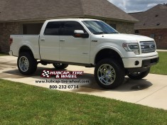 2016 ford f150 limited platinum 22x11 fuel hostage chrome wheels