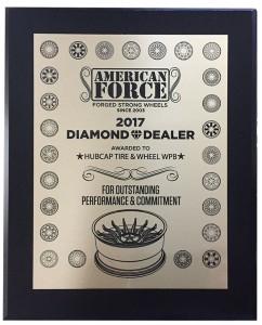 American Force Diamond Dealer 2017 Award