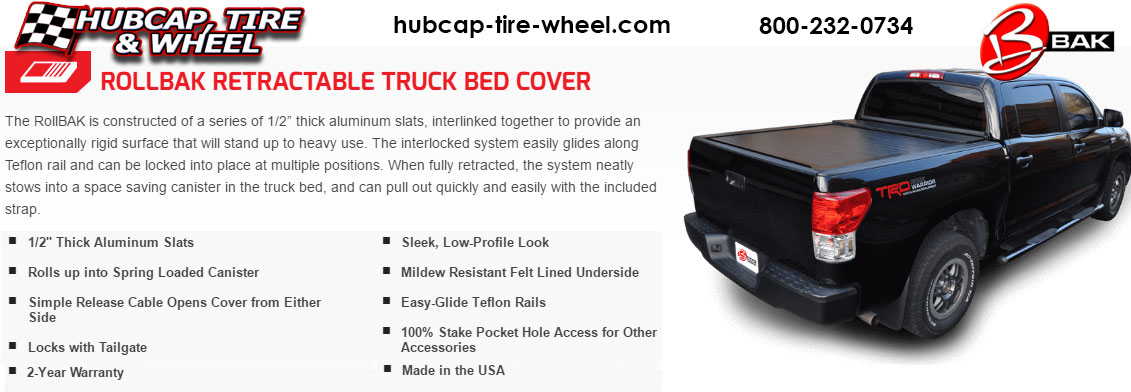 Rollbak Retractable Truck Bed Tonneau Cover
