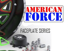 American Force Face Plate Seires