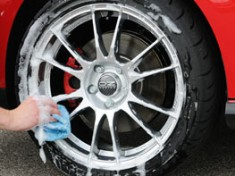 Washing aftermarket wheels rims