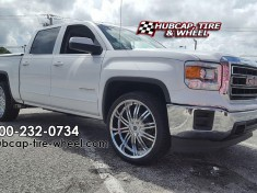 2014 GMC Sierra 1500 chrome 2Crave Wheels