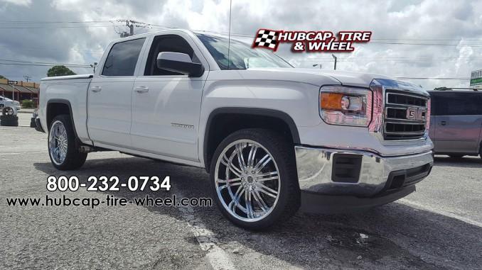2014 GMC Sierra 1500 chrome 2Crave Wheels