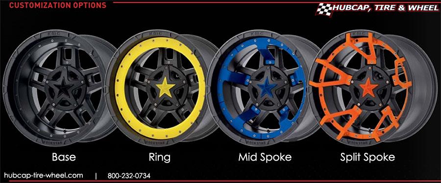 Hubcap Tire And Wheel >> Xd Series Rockstar 3 Wheels Rims Xd827 Tundratalk Net Toyota