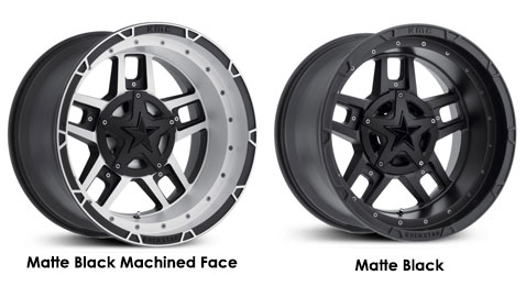 XD Rockstar 3 Base Model Wheels