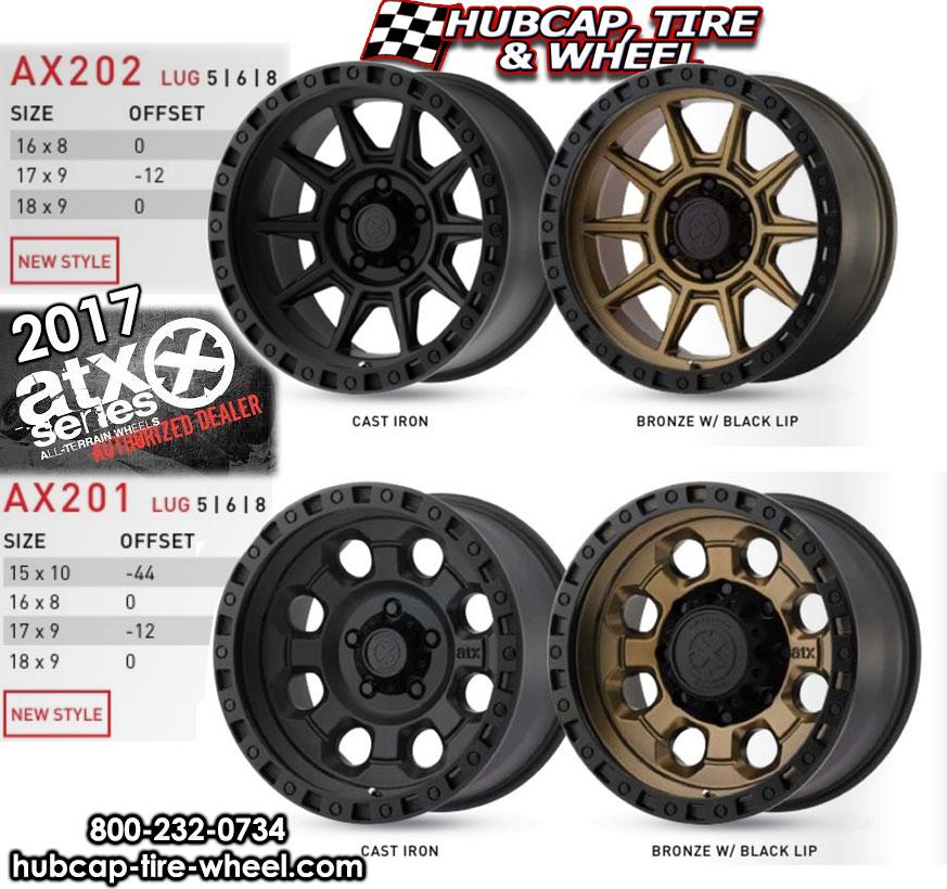 2017 ATX Series Wheels Rims