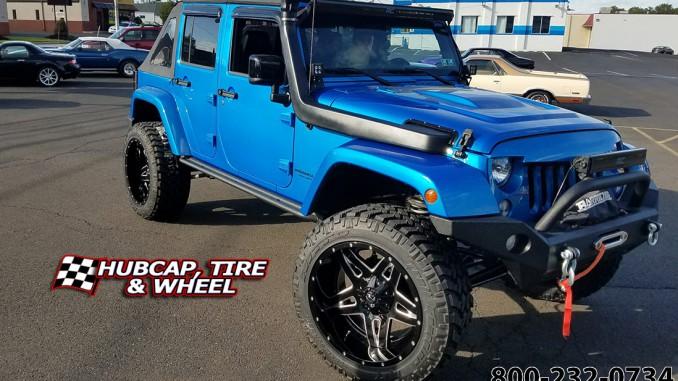 2015 jeep wrangler fuel d254 full blown wheels