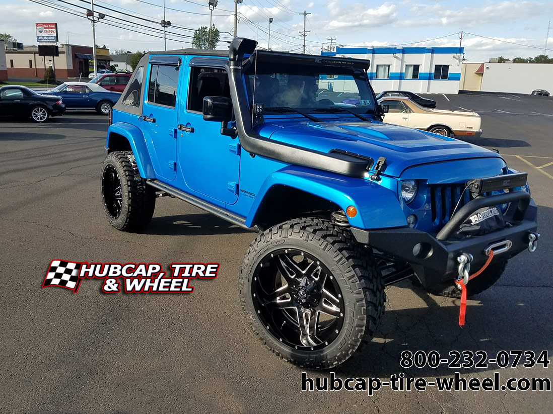 2015 jeep wrangler fuel d254 full blown wheels