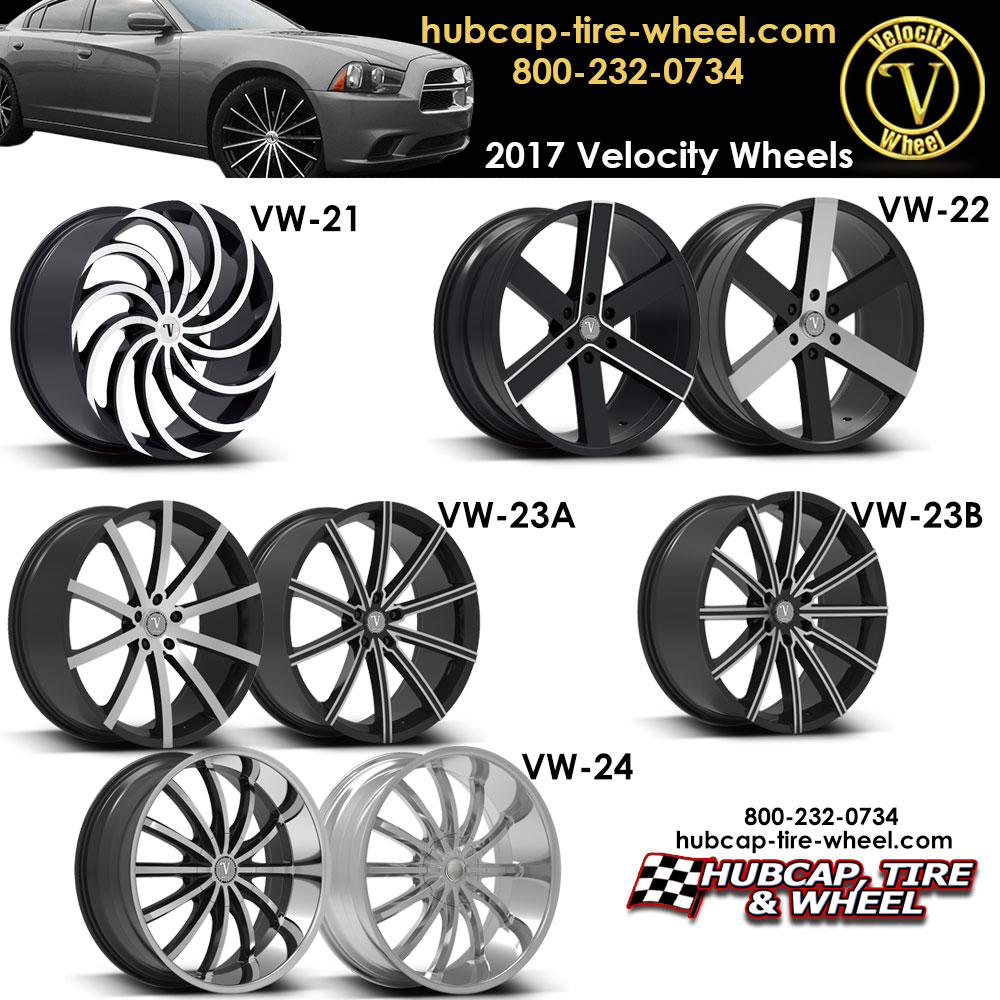 New 2017 Velocity Wheels Rims