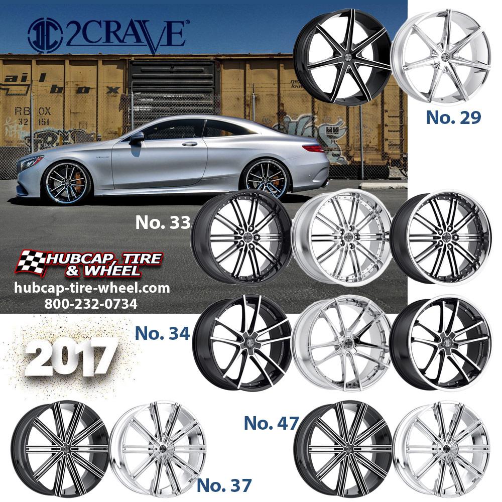 New 2017 2Crave Wheels Rims