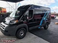 2014 Dodge Promaster 1500 Van XD820 Grenade Wheels Rims