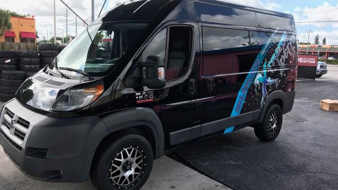 2014 Dodge Promaster 1500 Van XD820 Grenade Wheels Rims