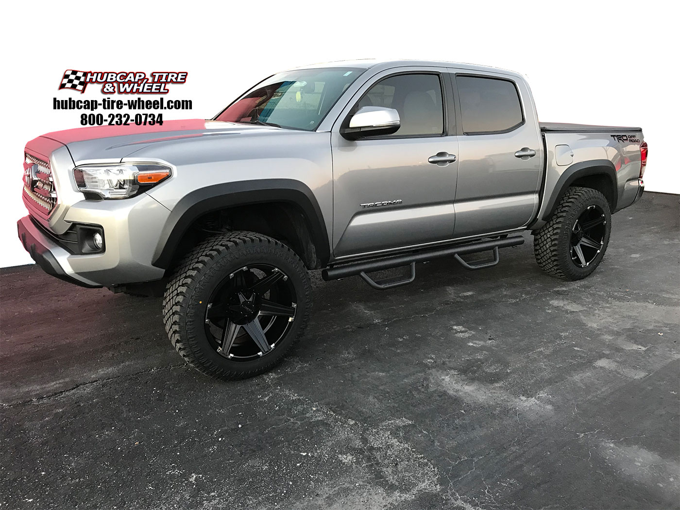 2017 toyota tacoma w 20 tuff t 12 black wheels. Black Bedroom Furniture Sets. Home Design Ideas