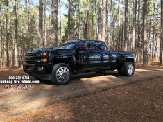 2017 Chevrolet Silverado 3500 Dually American Force Independence Wheels