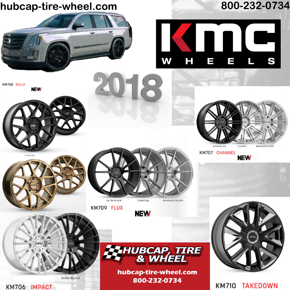 New 2018 KMC Wheels Rims