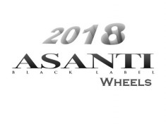 New 2018 Asanti Black Label Wheels